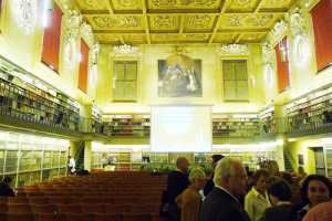 Bologna Conference hall brightened