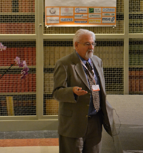 Dr. William Judy lecturing