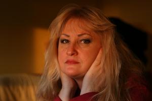 Fibromyalgia woman